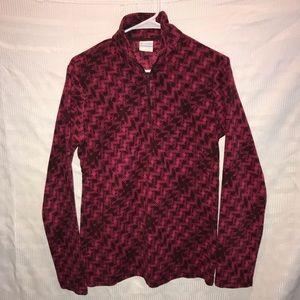 Columbia micro fleece pullover shirt top size L